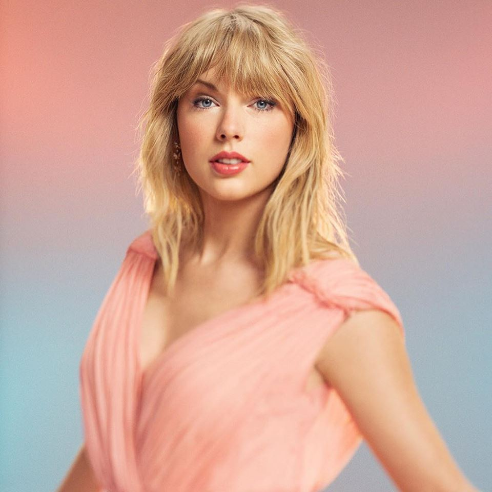 Portrait de Taylor Swift en avril 2019
