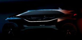 Un cliché du Audi: AI : TRAIL quattro, présenté au salon de Francfort