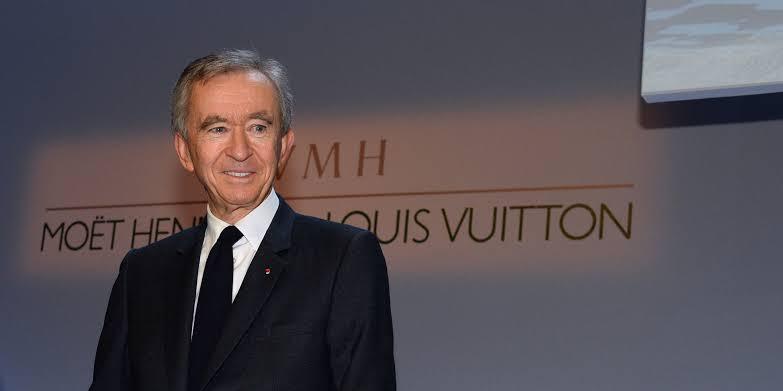 Bernard Arnault, PDG de LVMH, leader français du luxe mondial