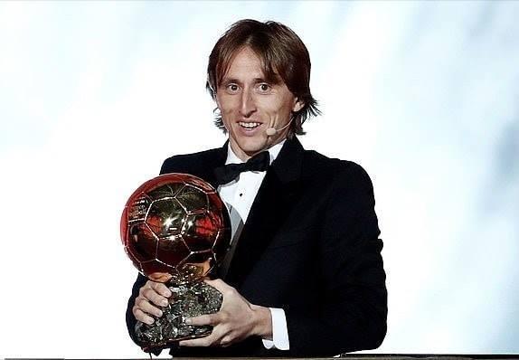 Luka Modric, vainqueur du Ballon d'Or 2018