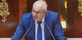 Laurent Pietraszewski, le nouveau Monsieur Retraites, à la tribune de l'Assemblée Nationale en juillet 2017
