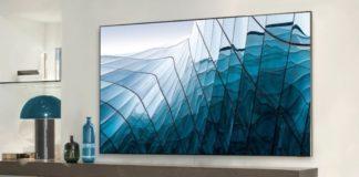 Le nouveau téléviseur QLED de Samsung.