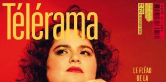 La Une du dernier numéro du magazine « Télérama », consacrée à la question de la grossophobie, présente une photo de la DJ et militante Leslie Barbara Butch, qui pose nue pour le photographe Jérôme Bonnet.