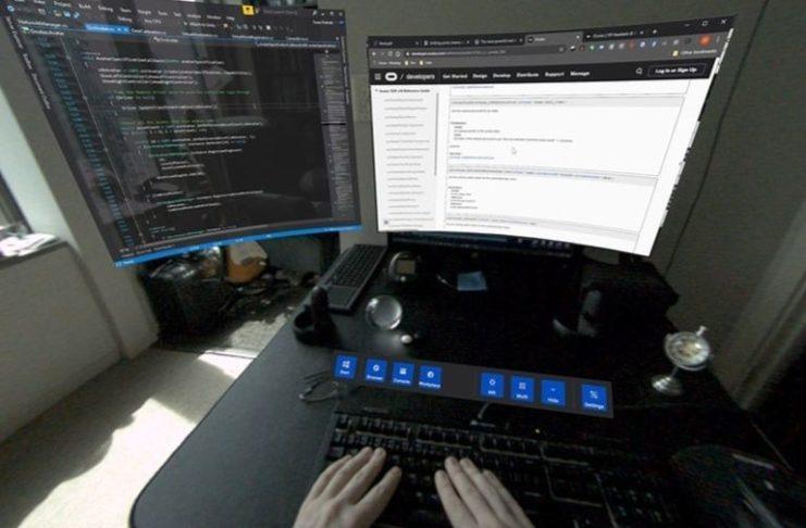 Des mains sur un clavier (Crédit Facebook).