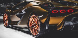 Une Lamborghini Sian à l'IAAA de Frankfort.
